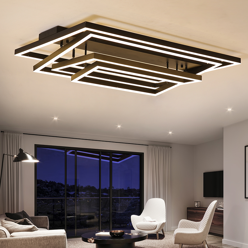 New design luxurious Postmodern led Chandelier For Living room lights Villa hotel decoration lustres led chandelier