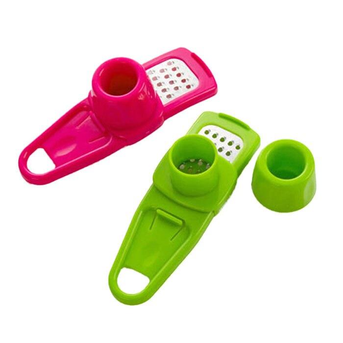 Ustensiles accessoires de cuisine Multi fonctionnel ail fermoir gingembre ail meulage râpe rabot trancheuse Cutter outil de cuisson 2