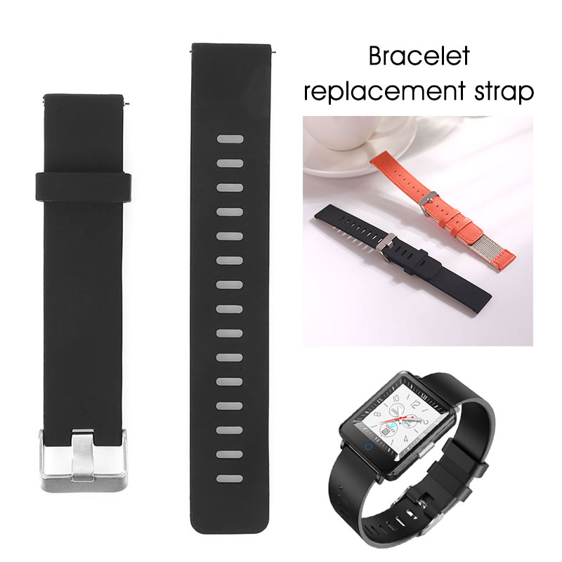 Watchband Silicone Rubber Band Waterproof Sports Diving Strap For CV 16 Replace Electronic Wristwatch Belt Watch Accessories