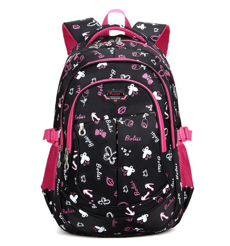 Large Children School Bags for Teenagers Girls Boys Waterproof Printing Backpack Satchel Schoolbag Mochila Escolar Infantil