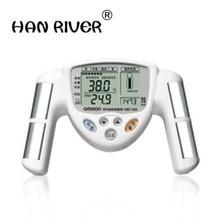 Высокое качество ИМТ мужской и женский общий прибор для измерения жира тела прибор для определения жира, тест жира в руке ЖК-дисплей