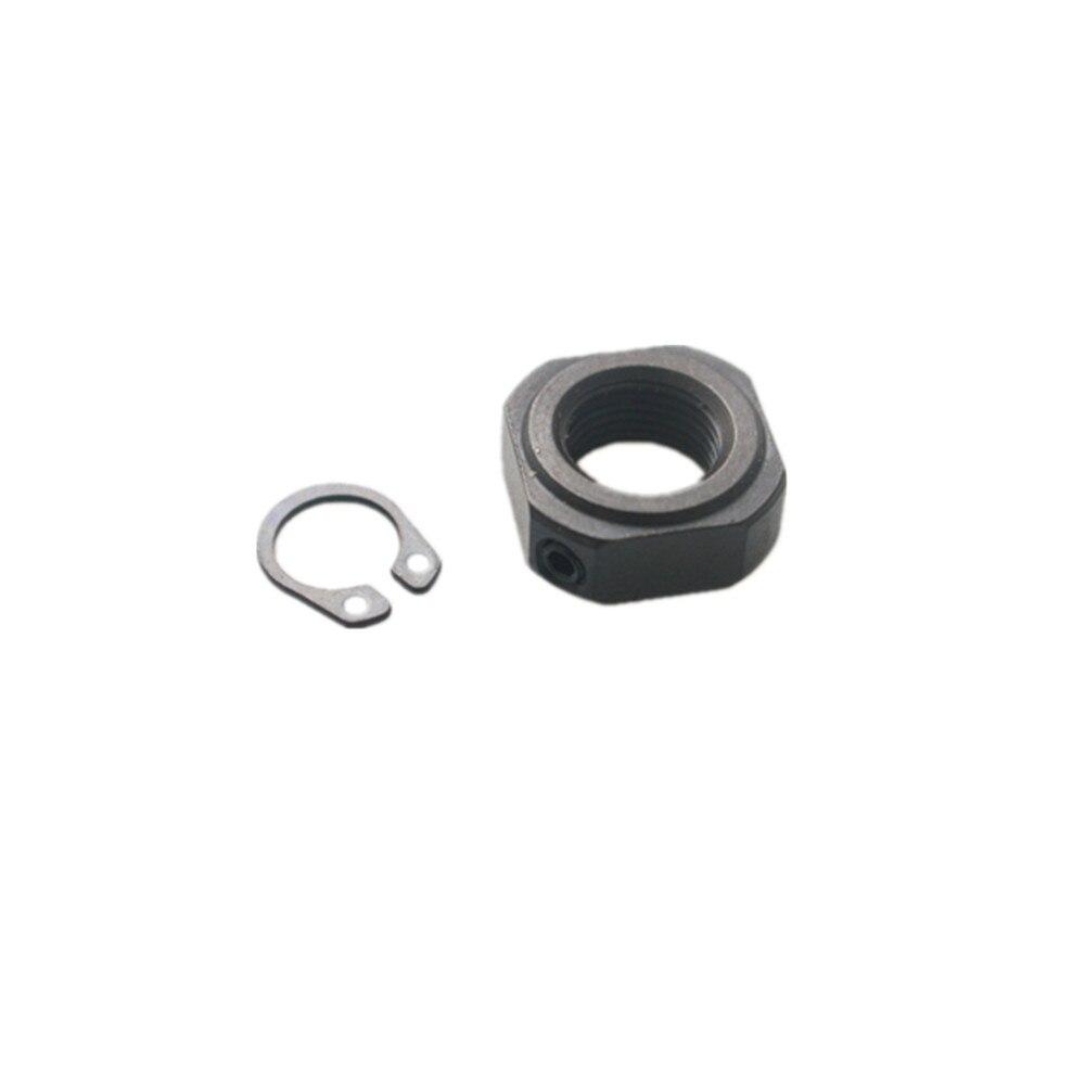 Lock Nut And Clasp For SFU1204 SFU1605 SFU2005 Ball ScrewBKBF10 BKBF12 BKBF15 Support Seat