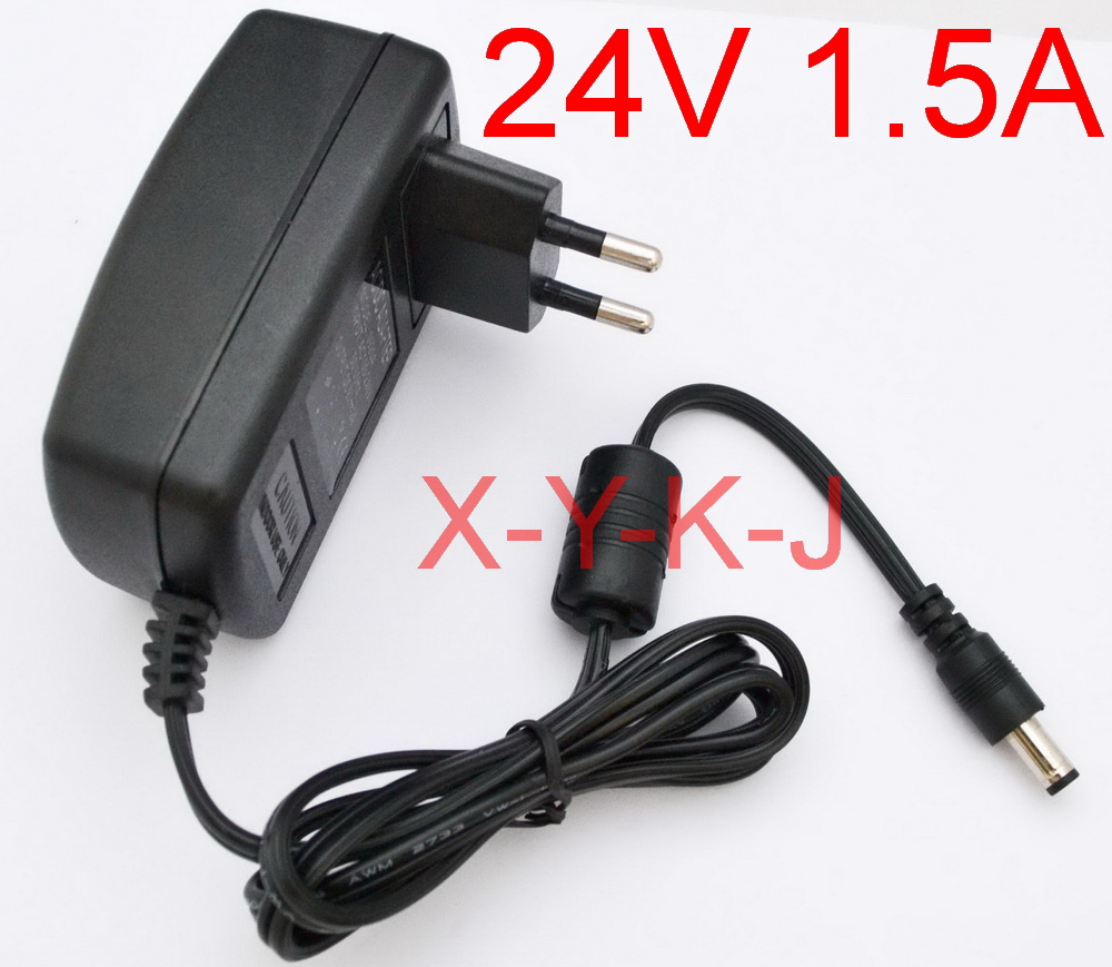 AC Switching Power Supply DC 5V 1.5A adapter US plug 5.5mm x 2.1mm 1500mA New