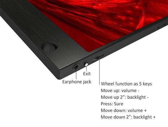 Pouces super mince ips écran tactile pour ps ps xbox