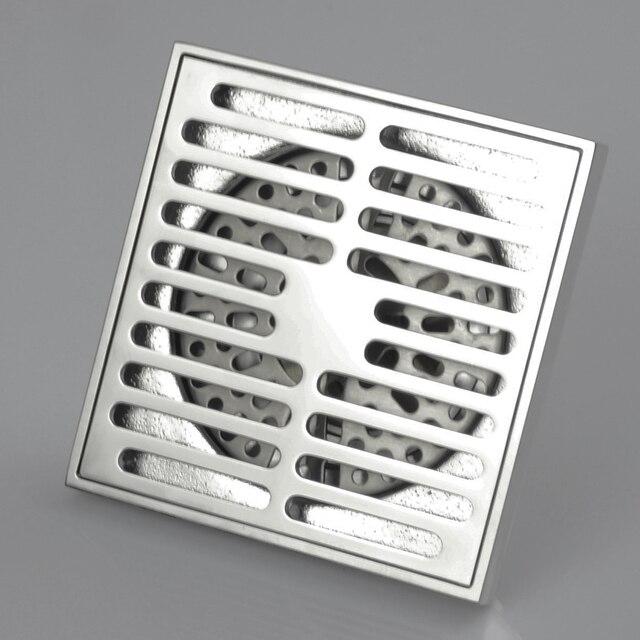 aliexpress : 10*10 cm bad quadrat dusche boden drian, Hause ideen