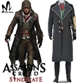 Assassins creed costume cosplay assassins creed syndicate Jacob Cosplay Costume Assassin's Creed jacket Hoodie Halloween costume