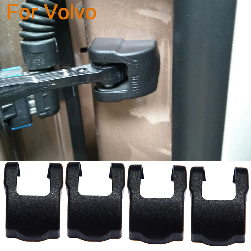 QCBXYYXH ABS 4pcs/lot Car Styling Door Check Arm Protection Cover For Volvo C70 V40 V60 S60 XC60 XC90 Door Lock Protective Cover