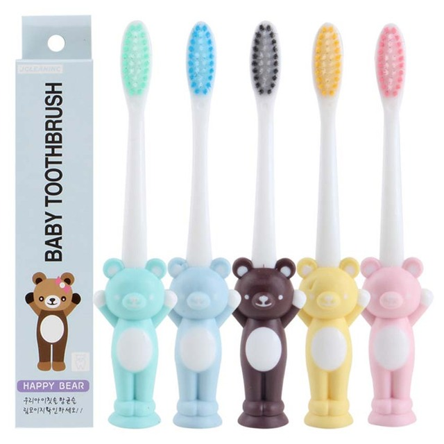 2Pcs Baby Training Toothbrush