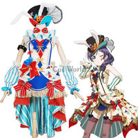 Love Live School Idol Project Tojo Nozomi Circus Fancy Dress Uniform Outfit Anime Cosplay Costumes