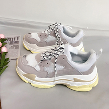 2019 Harajuku Autumn Vintage Sneakers Men Breathable Mesh Casual Shoes