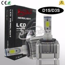 SPEVERT D1S/D3S D2S/D4S H4 H1 H3 H7 H8/H9/H11 9005/HB3 9006 /HB4 9004/7 880 110 Вт 26000LM 6000 К автомобиля светодио дный фар комплект лампы