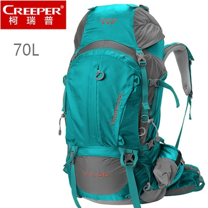 70L Waterproof Outdoor Sport Bag, Mochina and Professional Hiking Bagpack for Outdoor Camping Bag, 1.95KG 70l professional outdoor sport bag mochila waterproof outdoor hiking bagpack with rain cover 80 27 38cm