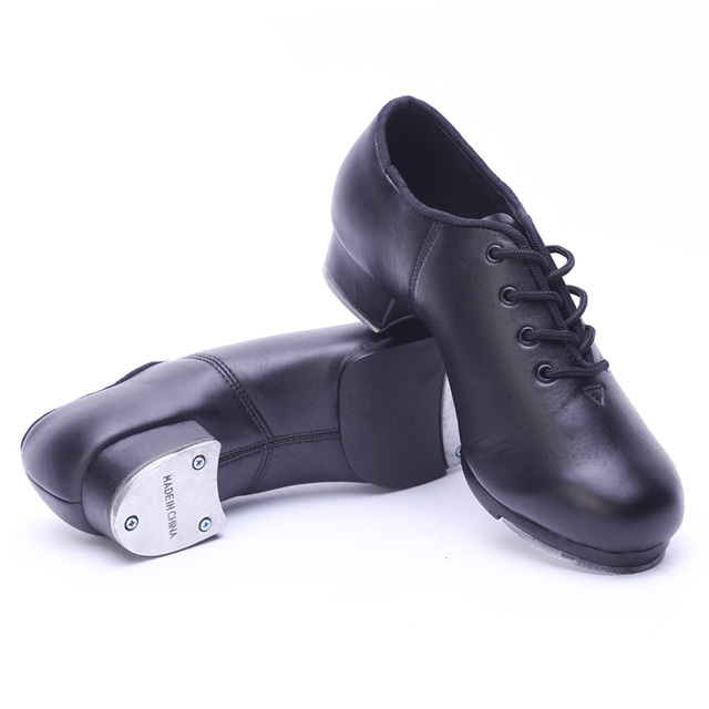 253283b42 Classic Type Cowhide Leather Lacing Stepdames Shoes Black Soft ...