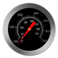 цены на 100 - 350 Degrees Celsius BBQ Thermometer Stainless Steel Oven Cooker Thermometer Food Meat Probe Temperature Gauge Kitchen в интернет-магазинах