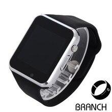 10 stücke A1 2016 Männer Frauen Armbanduhr Bluetooth Smart Uhr Android Sport Pedometer Mit SIM Slot Kamera Smartwatch PK gt 08 iwo2