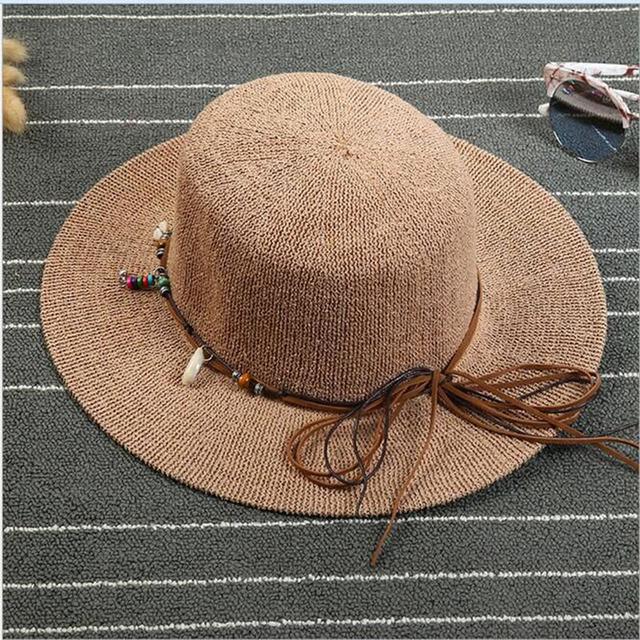 2016 Moda de Nueva Venta Caliente Arco Materiales de Lana de Tejer Sombrero Del Jazz Británico Retro Sombrero de Ala Ancha Sombrero de Sol Sombreros de las mujeres