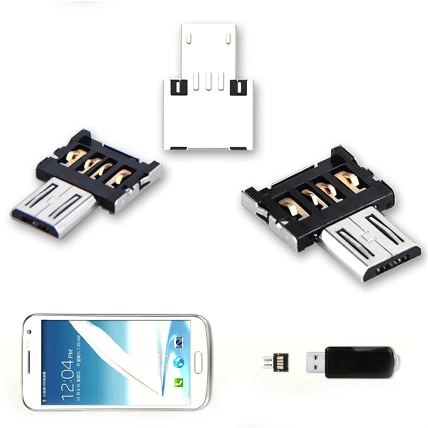 Hot-Sale-Mini-USB-2-0-Micro-USB-OTG-Electronic-Charger-Converter-Adapter-Cellphone-TO-US