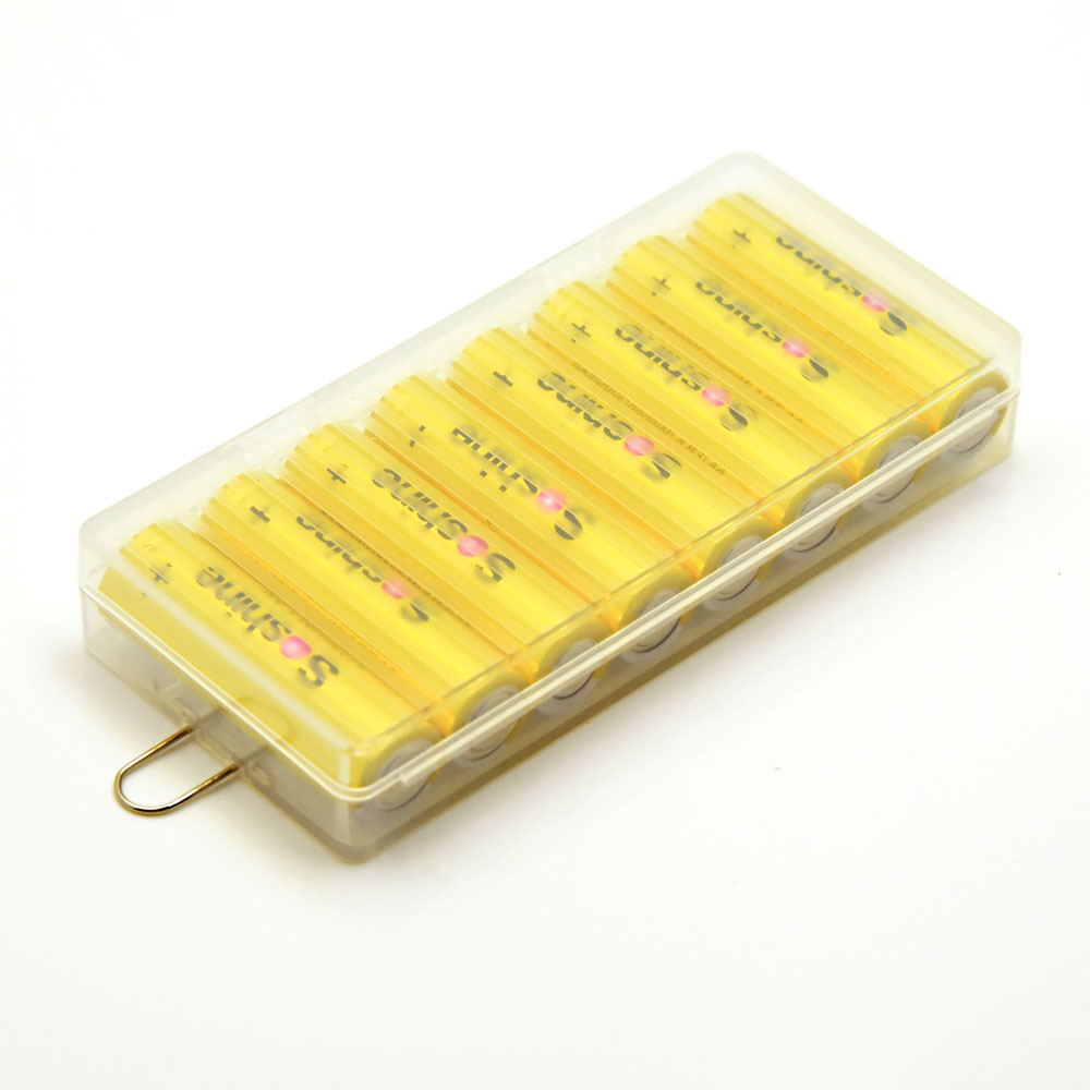 Soshine 8PCS LITHIUM <font><b>1.5V</b></font> <font><b>AA</b></font>/FR 6/Mignon 3000MAH <font><b>Battery</b></font> With <font><b>Battery</b></font> Box Case image