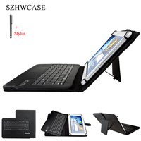 9 10 Tablet Universal Wireless Bluetooth Keyboard Case For ASUS LG Acer HTC 9 10 Tablet