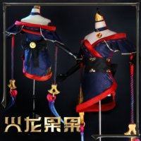 Game LOL The Widow Maker Evelynn Cosplay Costume Blood Moon Eve Cosplay Costume Full Set Kimono