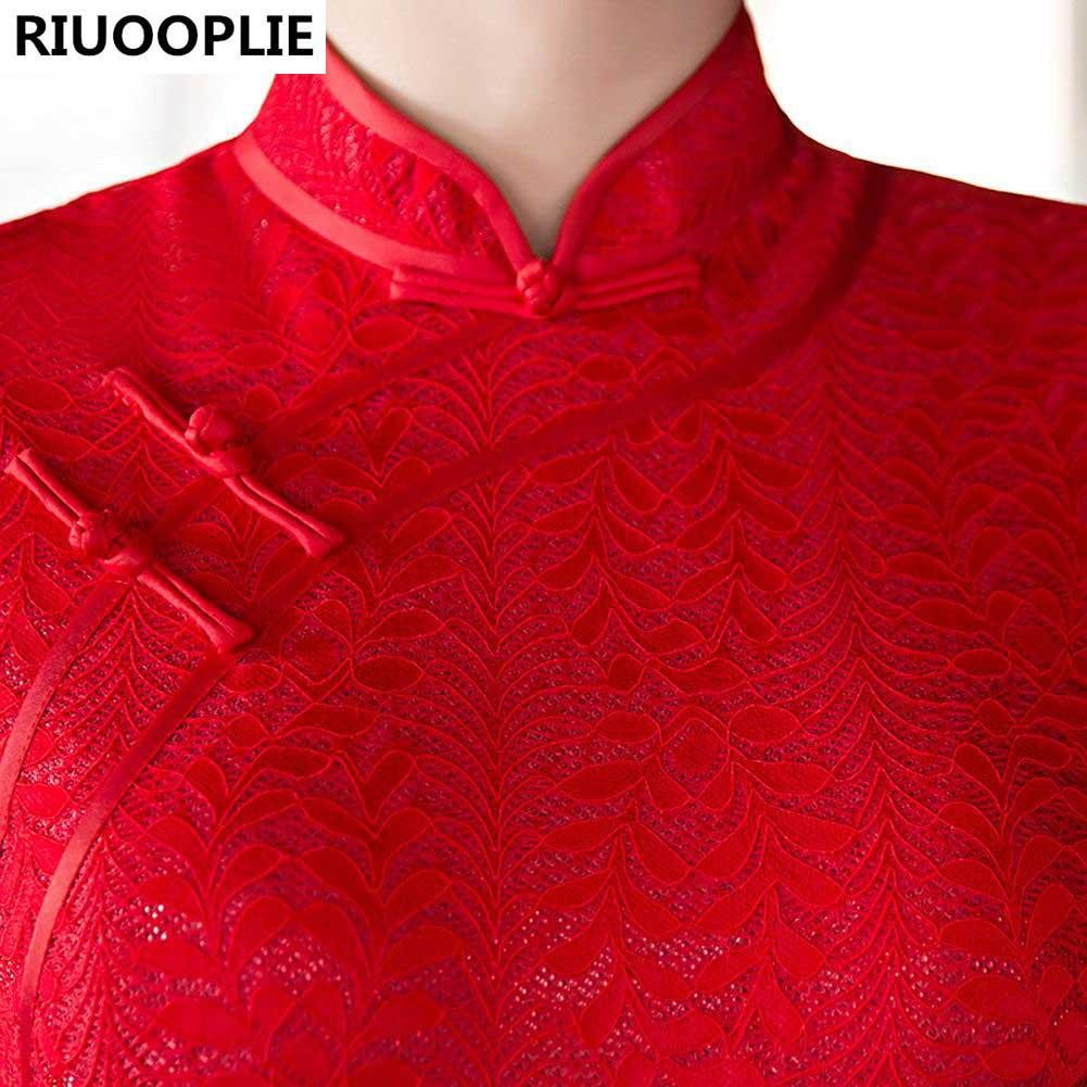 RIUOOPLIE Mode Robes de soirée mariée Robe de mariée sexy - Vêtements nationaux - Photo 6