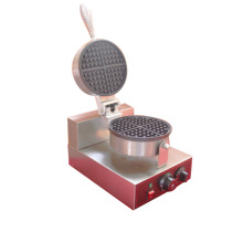 цена на electric waffle maker Stainless steel Egg muffin waffle making machine 1 head mini waffle maker for all market