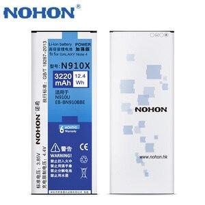 Image 3 - NOHON Batterie Für Samsung Galaxy Note 2 3 4 8 Note8 N9500 Note4 N9100 N910X Note3 NFC N9000 Note2 N7100 original Telefon Bateria