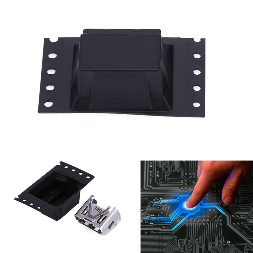 HDMI Socket Connector For Sony PlayStation PS4 Pro Slim Display Port HDMI Socket Jack Connector For PS4 Slim Console HDMI Port high quality original 10pcs new hdmi port connector socket for sony for playstation 4 for ps4 best price