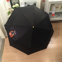 Unique Rain Umbrellas Top Quality Umbrella Men Rain Woman Windproof Three Folding Parapluie