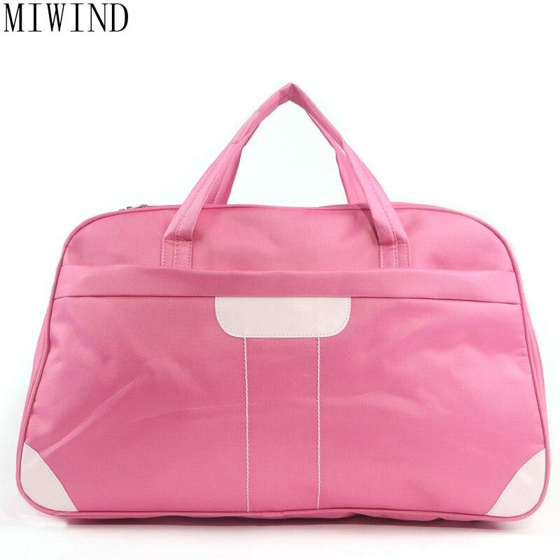 MIWIND femmes sac de voyage grande capacité Duffle bagages sacs grand fourre-tout décontracté étanche sacs à main femme marque de luxe Bolsas TSL810