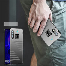 6800mah Wireless Battery Charger Cases For Huawei Nova 4 Battery Case  External Portable Power Bank Charging Cover Case
