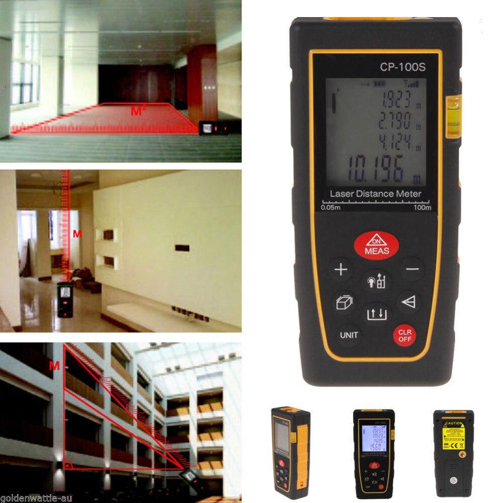 ФОТО Digital LCD Laser Distance Meter Range Finder Measure Diastimeter 100M/328FT Better
