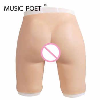 Fake vagina buttock for crossdresser drag queen Women's Hip Padded Butt Lifter Enhancer bum Push Up fake pussy Underwear - DISCOUNT ITEM  44% OFF All Category