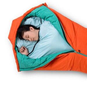 Image 5 - Naturehike Elastic Sleeping Bags Liner Outdoor Camping Travel Ultralight Carry Sheet Hotel Anti dirty Sleeping Bag Accessories
