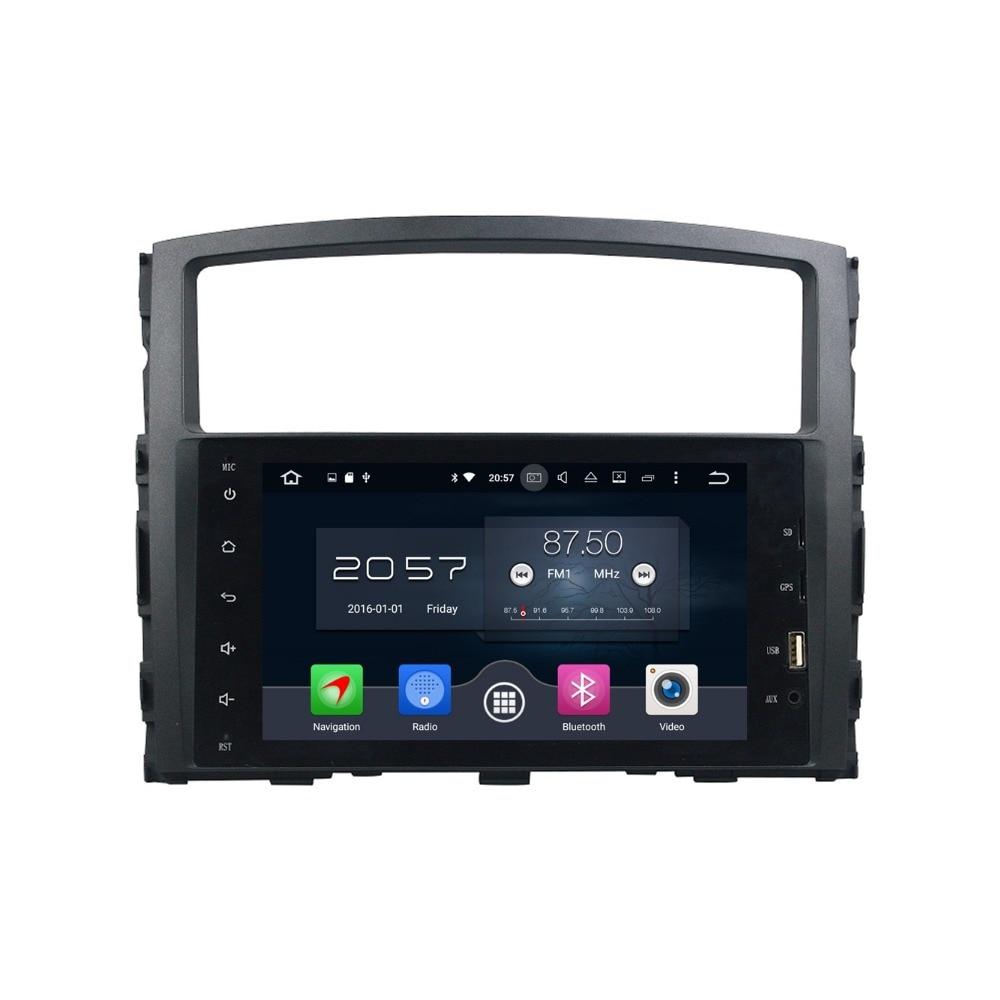 "2 ГБ Оперативная память Octa core 8 ""Android 6.0 dvd-плеер автомобиля для Mitsubishi Pajero 2006-2016 с Радио GPS Bluetooth WI-FI USB Зеркало Ссылка"