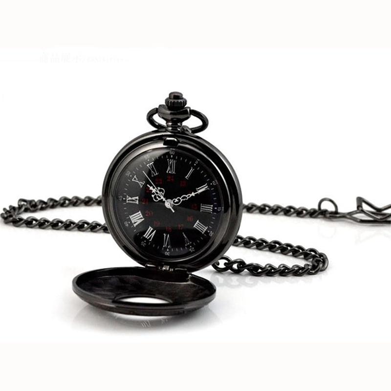 2017 гарячі римські ретро ретро антикварні Steampunk кишенькові годинники 2 стилі ланцюжок чоловіків жінки годинник кварцові намисто кулон подарунок  t