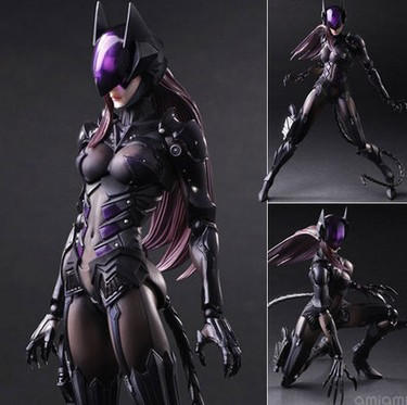 Maple City Animation Play Arts PA Change Nomura Tetsuya Batman Cat man prime Cat Figma