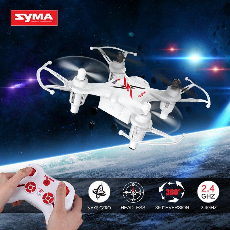 Vendita calda Syma X12S 4CH-Axis Gyro Elicottero RC Droni Quadcopter Mini Dron senza Macchina Fotografica Dell'interno Giocattoli Regalo di Compleanno Per Bambini