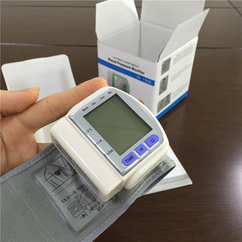 CE FDA Approved Intelligent Digital Wrist Blood Pressure Monitor blood pressure 2