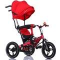 Crianças brinquedo carrinho de bebê triciclo carrinho de bebê bicicleta