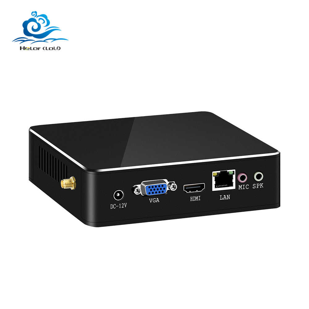 Hly Mini PC Intel Core I3 5005U 6100U 7100U DDR3 Ram Mini Komputer Windows 10 WIFI HDMI Usb Desktop Komputer i3 PC