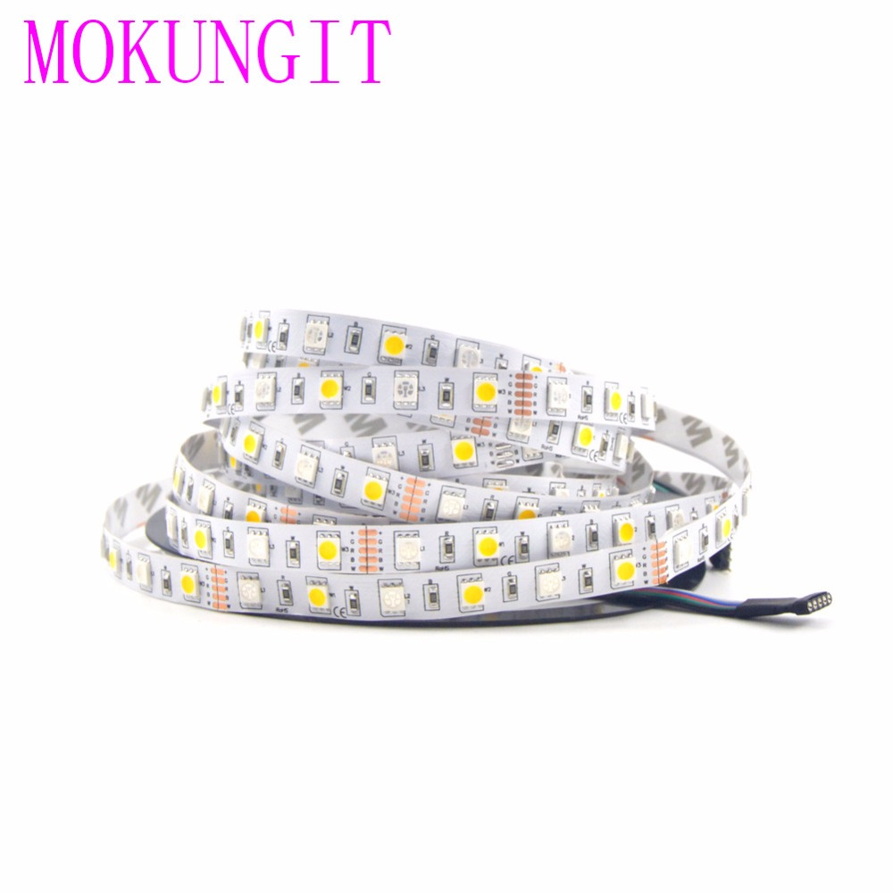 Outdoor 12 Volt 60leds Meter Led Strip Smd 5050 Rgb: 50M 10X5M DC12V SMD 5050 RGBW LED Strip Light 60Leds/M