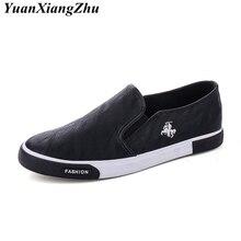 Men Casual Shoes 39-45 Size 2018 Mens Loafers Fashion Leather Vulcanize White/khaki/Black Large Driving