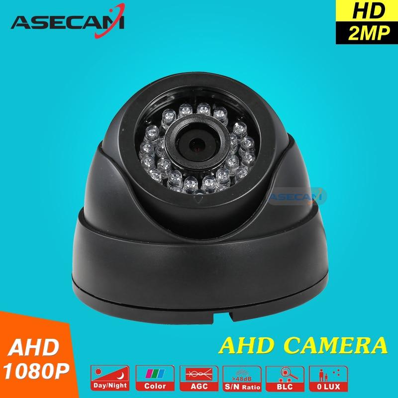 bilder für Hot NEW Home HD Überwachungs 2MP AHD Indoor Mini Schwarz Dome Sicherheit 1080 P Cctv-kamera Freies Verschiffen