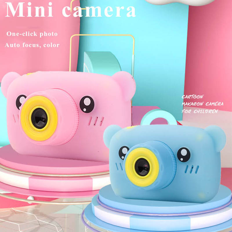 New Kids Camera Toys Mini HD Cartoon Cameras Taking Pictures Gifts For Boy Girl Birthday Camera Toys For Children's Day