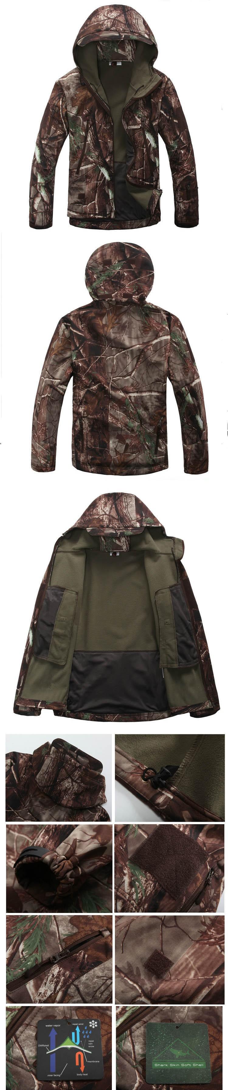 High Quality Lurker Shark Skin Soft Shell Tad V 40 Outdoor Military Jacket Inner Polar Safety Getsubject Aeproduct