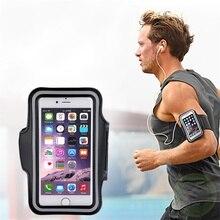 Спортзала armband сотового упражнение запуск телефона чехол спорт держатель сумка для