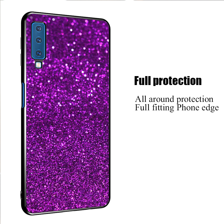Case For Samsung Galaxy A7 2018 J3 J5 J7 A3 A5 2017 2016 S10 E S9 S8 J2 J4 J6 Plus J8 A8 A6 A7 A9 2018 Glitter Phone Cases