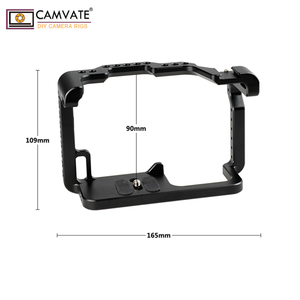 Image 2 - CAMVATE GH5 Camera Cage Full Frame With Shoe Mount C1910