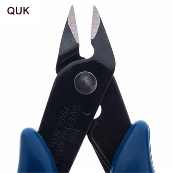 QUK Pliers Multi Functional Tools Electrical Wire Cable Cutters Cutting Side Snips Flush Stainless Steel Nipper Hand Tools